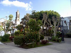 Plaza in Firgas - Gran Canaria